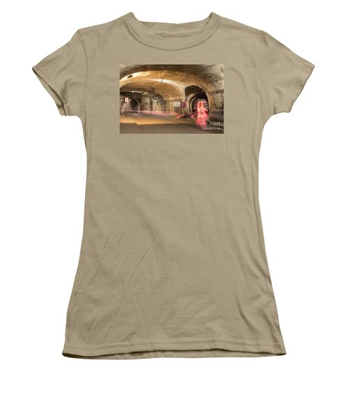 Underground Tunnels In Guanajuato, Mexico Women's T-Shirt (Junior Cut) by Juli Scalzi