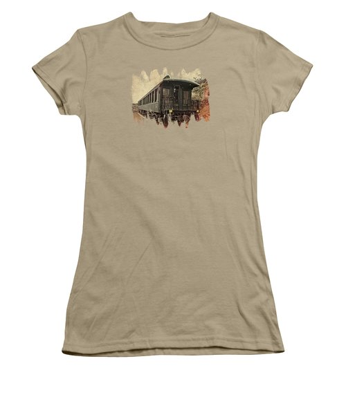 Virginia City Pullman Women's T-Shirt (Junior Cut) by Thom Zehrfeld