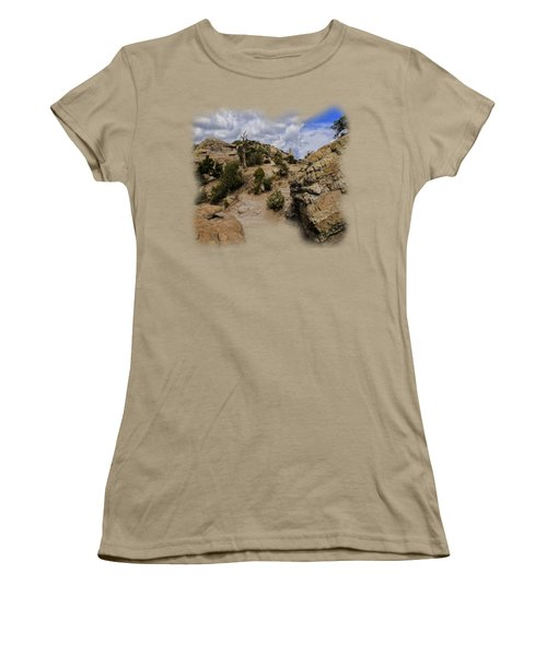 Windy Point No.13 Women's T-Shirt (Junior Cut) by Mark Myhaver