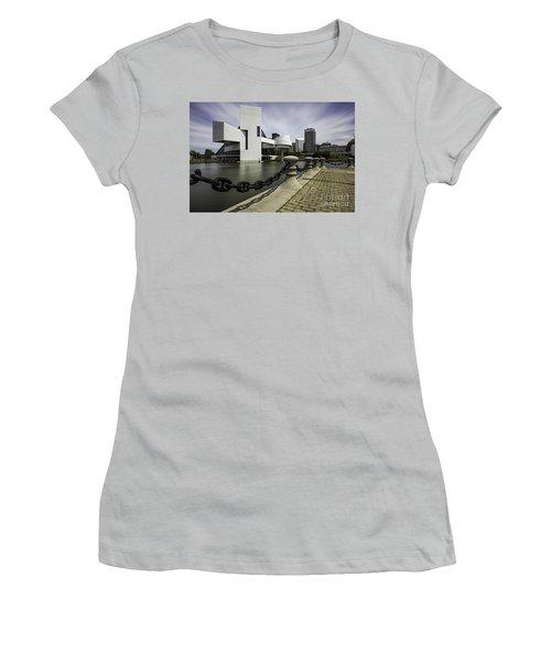 Rock And Roll Women's T-Shirt (Junior Cut) by James Dean
