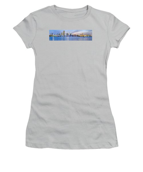 Miami 2004 Women's T-Shirt (Junior Cut) by Patrick M Lynch