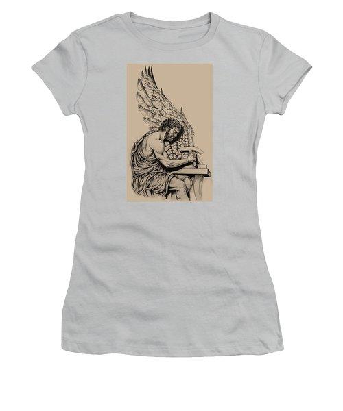 Daedalus Workshop Women's T-Shirt (Junior Cut) by Derrick Higgins