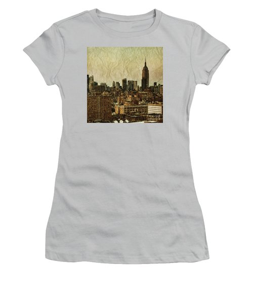 Empire Stories Women's T-Shirt (Junior Cut) by Andrew Paranavitana