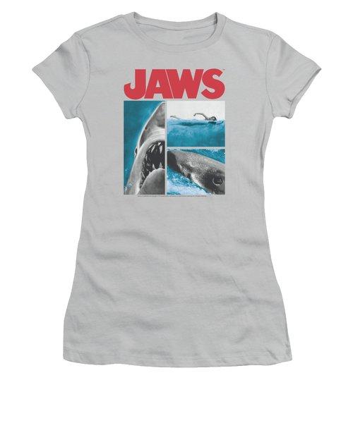Jaws - Instajaws Women's T-Shirt (Junior Cut) by Brand A