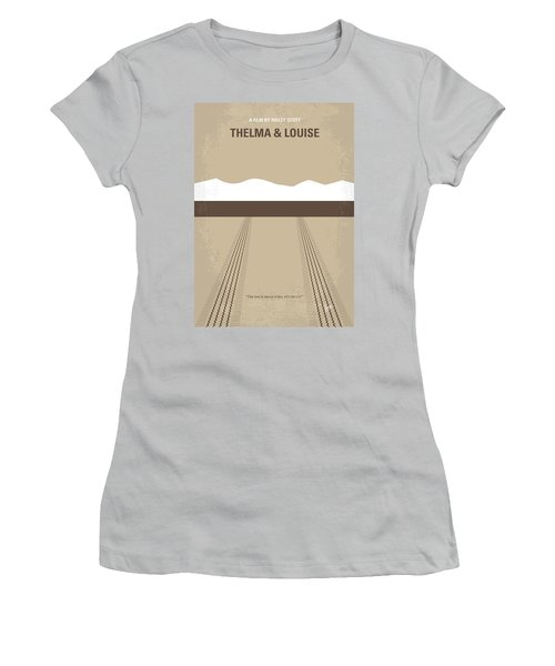 No189 My Thelma And Louise Minimal Movie Poster Women's T-Shirt (Junior Cut) by Chungkong Art
