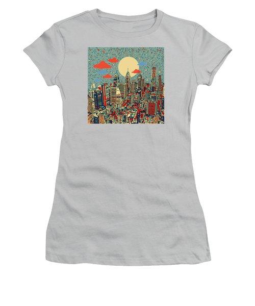 Philadelphia Dream 2 Women's T-Shirt (Junior Cut) by Bekim Art