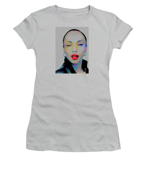 Sade 3 Women's T-Shirt (Junior Cut) by  Fli Art
