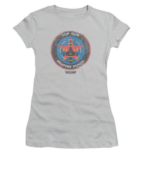 Top Gun - Flight School Logo Women's T-Shirt (Junior Cut) by Brand A