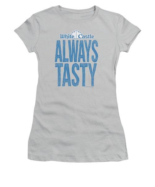 White Castle - Always Tasty Women's T-Shirt (Junior Cut) by Brand A