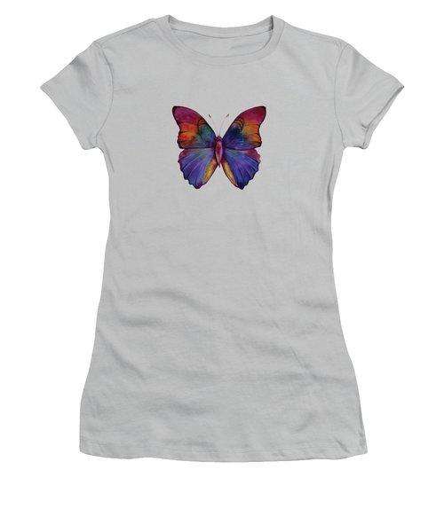 13 Narcissus Butterfly Women's T-Shirt (Junior Cut) by Amy Kirkpatrick