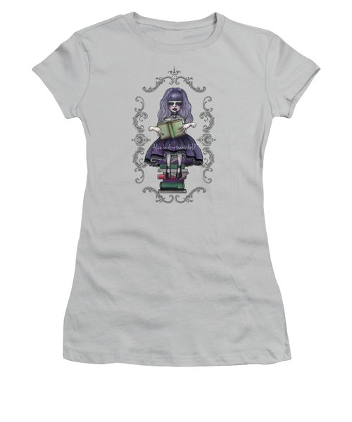 Alice In Another World 2 Women's T-Shirt (Junior Cut) by Akiko Okabe