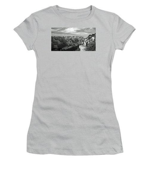 Grand Canyon No. 2-1 Women's T-Shirt (Junior Cut) by Sandy Taylor