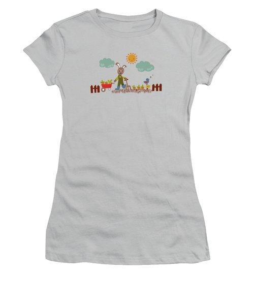 Harvest Time Women's T-Shirt (Junior Cut) by Kathrin Legg