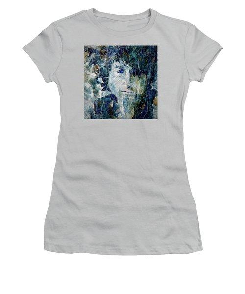 Knocking On Heaven's Door Women's T-Shirt (Junior Cut) by Paul Lovering