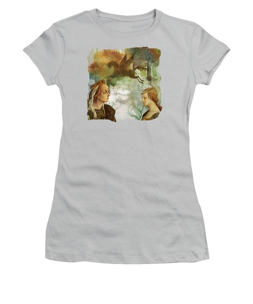 Medieval Dreams Women's T-Shirt (Junior Cut) by Terry Fleckney