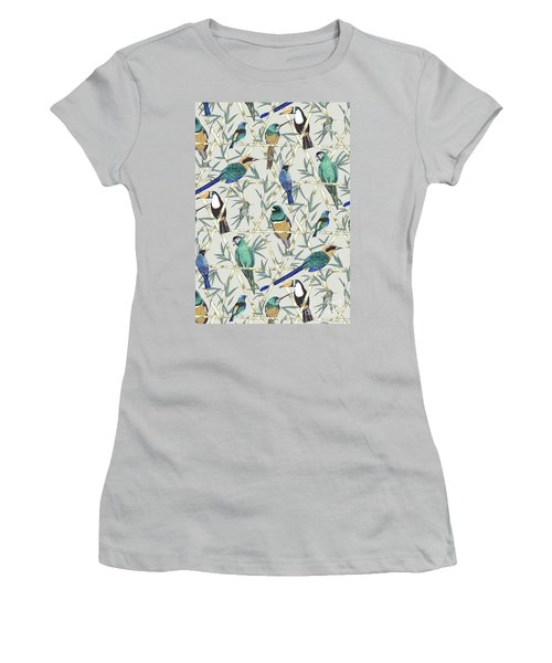Menagerie Women's T-Shirt (Junior Cut) by Jacqueline Colley
