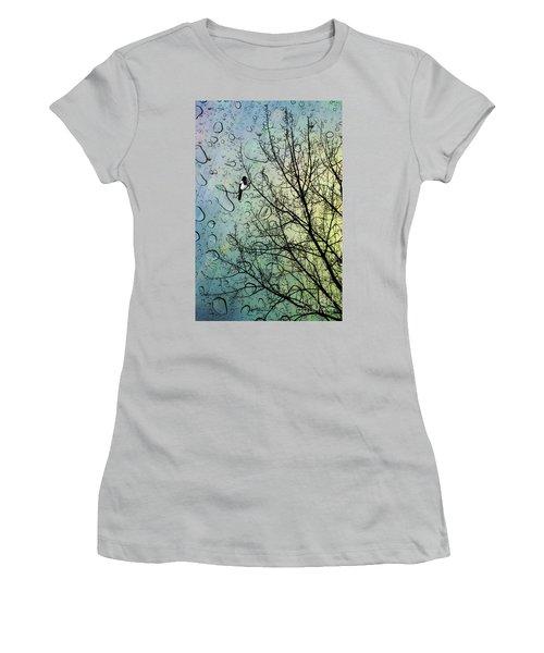 One For Sorrow Women's T-Shirt (Junior Cut) by John Edwards