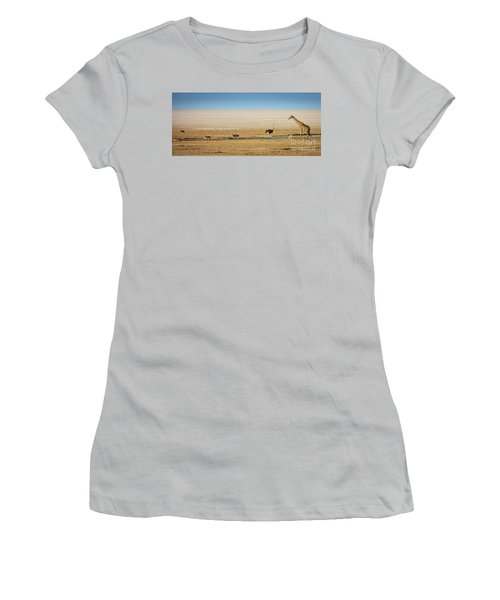 Savanna Life Women's T-Shirt (Junior Cut) by Inge Johnsson