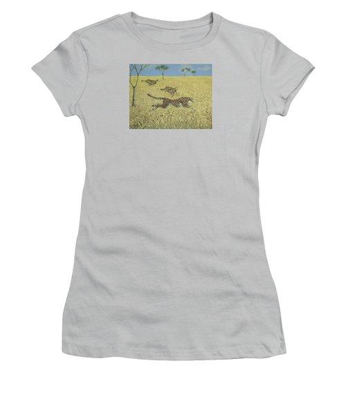 Sheer Speed Women's T-Shirt (Junior Cut) by Pat Scott