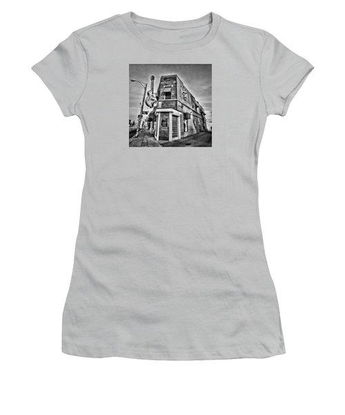 Sun Studio - Memphis #2 Women's T-Shirt (Junior Cut) by Stephen Stookey