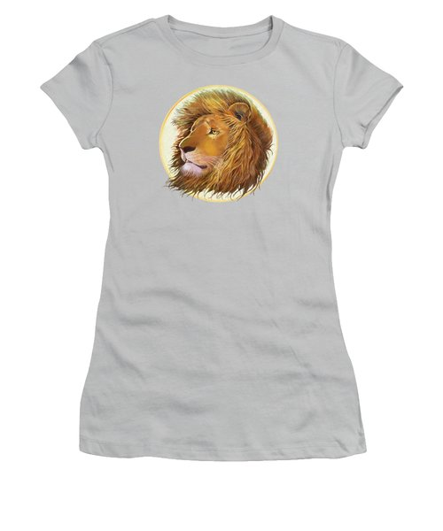 The One True King - Color Women's T-Shirt (Junior Cut) by J L Meadows