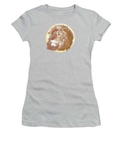 The One True King Women's T-Shirt (Junior Cut) by J L Meadows