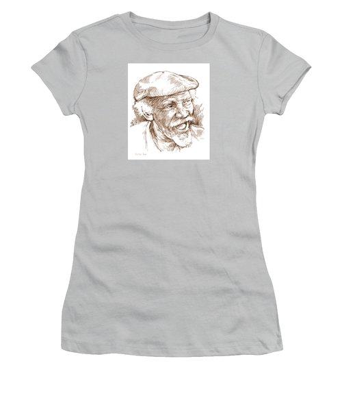 Victor Boa Women's T-Shirt (Junior Cut) by Greg Joens