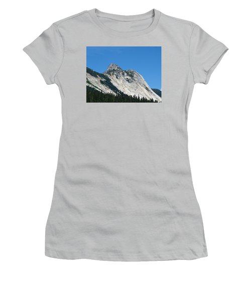 Yak Peak Women's T-Shirt (Junior Cut) by Will Borden