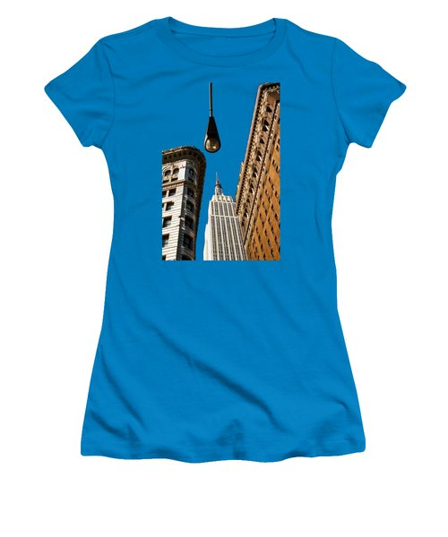 Flatiron District Women's T-Shirt (Junior Cut) by Paul Lamonica