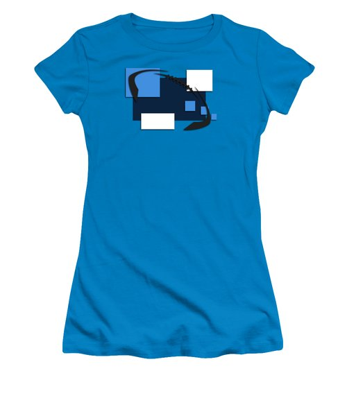 Tennessee Titans Abstract Shirt Women's T-Shirt (Junior Cut) by Joe Hamilton