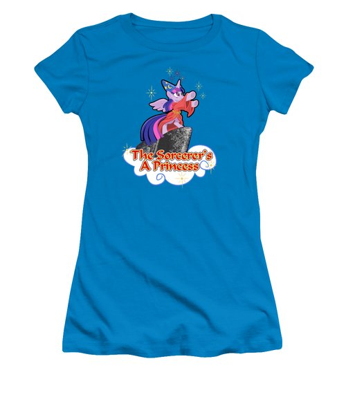 The Sorcerer's A Princess Women's T-Shirt (Junior Cut) by J L Meadows