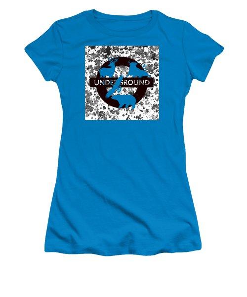 Underground.2 Women's T-Shirt (Junior Cut) by Alberto RuiZ