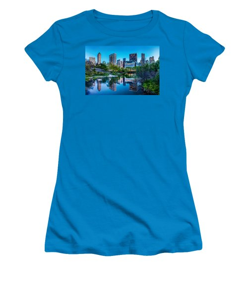 Urban Oasis Women's T-Shirt (Junior Cut) by Az Jackson