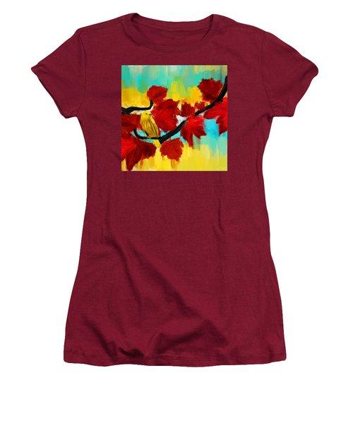 A Ponder Women's T-Shirt (Junior Cut) by Lourry Legarde