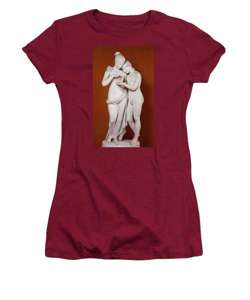 Cupid And Psyche Women's T-Shirt (Junior Cut) by Antonio Canova