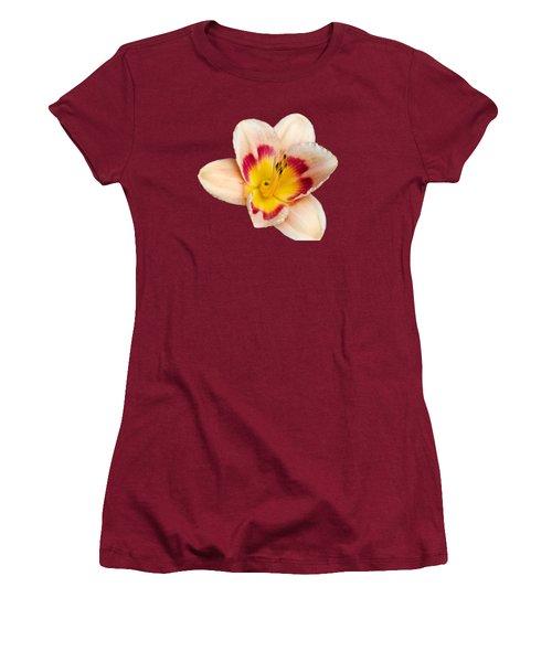 Orange Yellow Lilies Women's T-Shirt (Junior Cut) by Christina Rollo