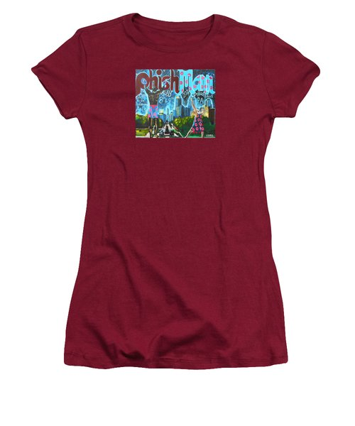 Phishmann Women's T-Shirt (Junior Cut) by Kevin J Cooper Artwork