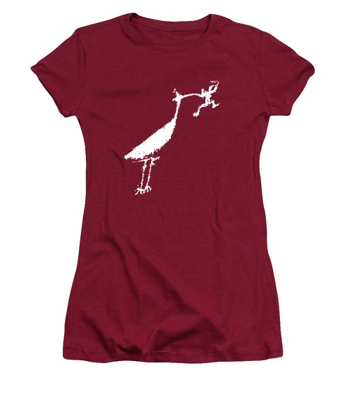 The Crane Women's T-Shirt (Junior Cut) by Melany Sarafis