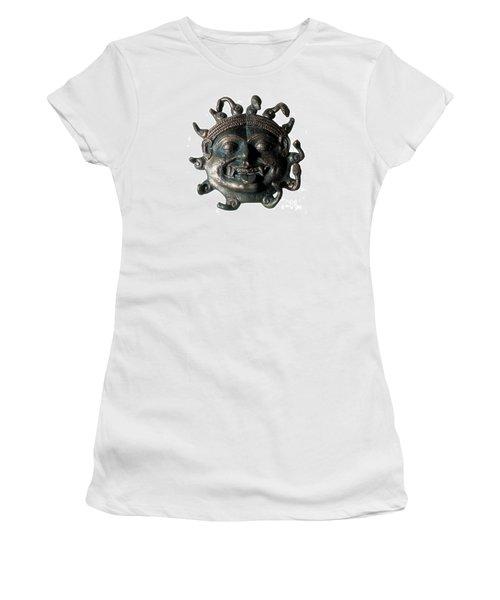 Gorgon Legendary Creature Women's T-Shirt (Junior Cut) by Photo Researchers