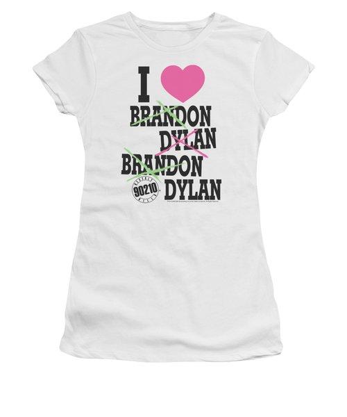 90210 - I Heart 90210 Women's T-Shirt (Junior Cut) by Brand A