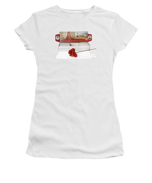 Blood Swept Lands And Seas Of Red Women's T-Shirt (Junior Cut) by Amanda Elwell