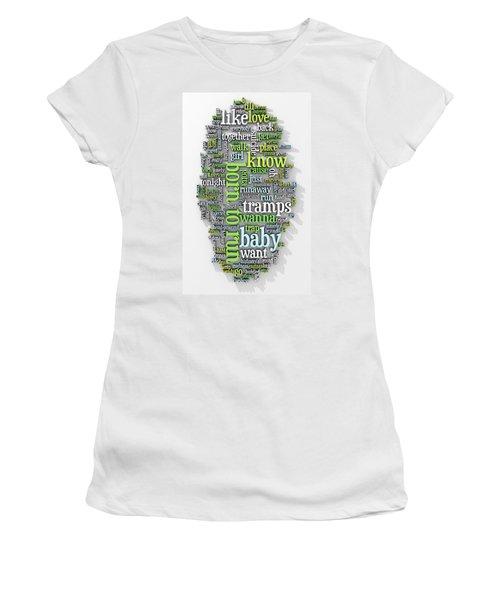 Born To Run Women's T-Shirt (Junior Cut) by Scott Norris