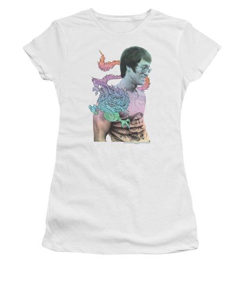 Bruce Lee - A Little Bruce Women's T-Shirt (Junior Cut) by Brand A
