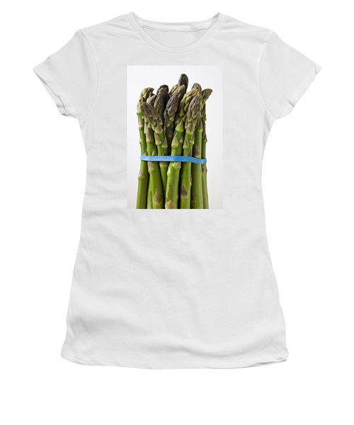 Bunch Of Asparagus  Women's T-Shirt (Junior Cut) by Garry Gay