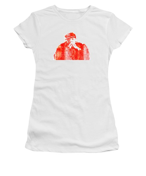 Jay Z Vibes Women's T-Shirt (Junior Cut) by Brian Reaves
