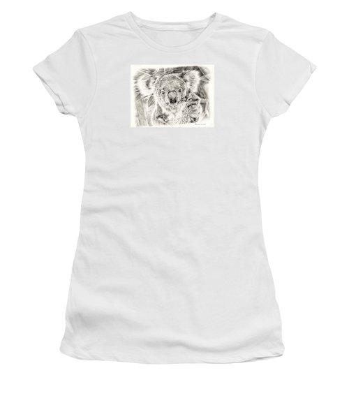 Koala Garage Girl Women's T-Shirt (Junior Cut) by Remrov