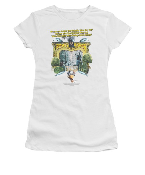 Monty Python - Knights Of Ni Women's T-Shirt (Junior Cut) by Brand A