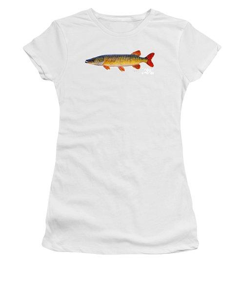 Pike Women's T-Shirt (Junior Cut) by Carey Chen