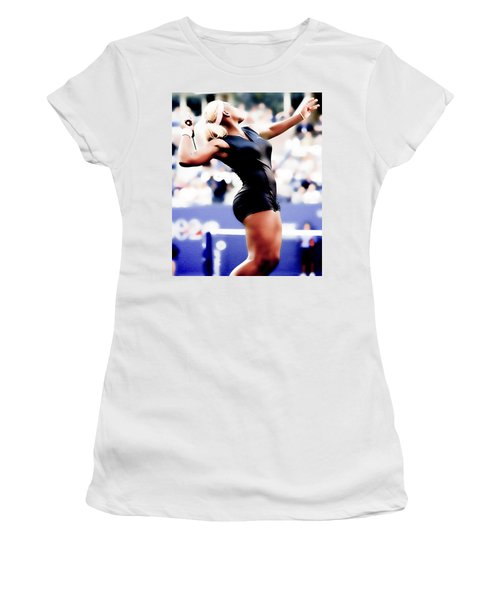 Serena Williams Catsuit Women's T-Shirt (Junior Cut) by Brian Reaves