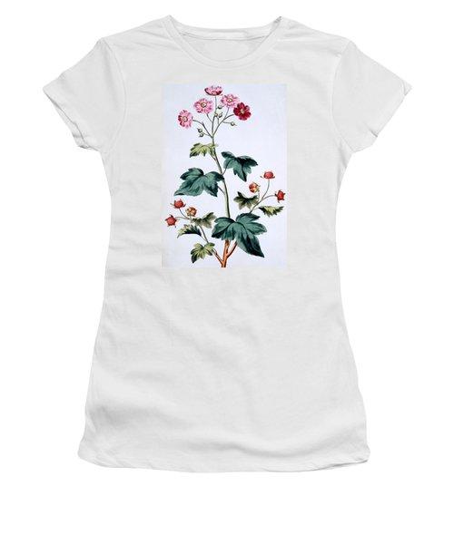 Sweet Canada Raspberry Women's T-Shirt (Junior Cut) by John Edwards